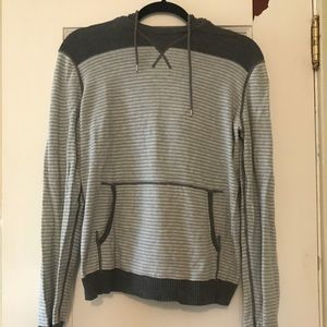 Kenneth Cole Cozy Cotton Sweater Hoodie- Small.